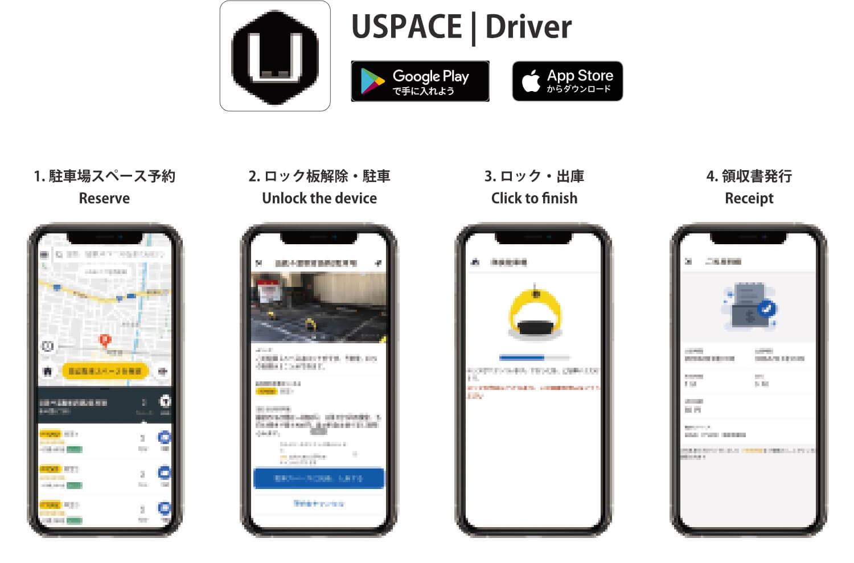 ユーザーアプリケーション